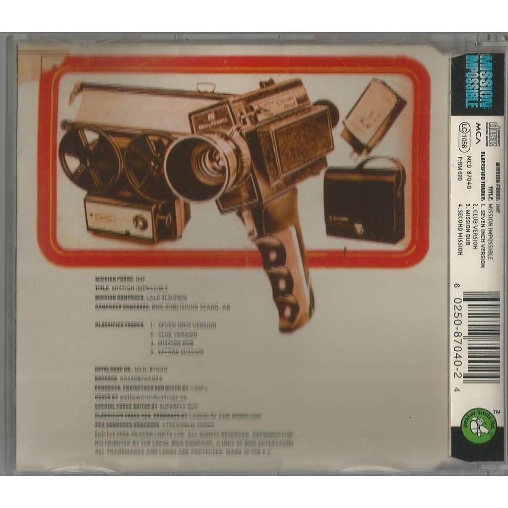 IMF Mission: Impossible ( CD, Maxi-Single, House / Techno)