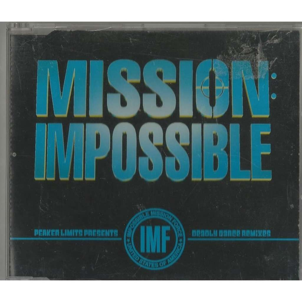 IMF Mission: Impossible ( CD, Maxi-Single, House / Techno)