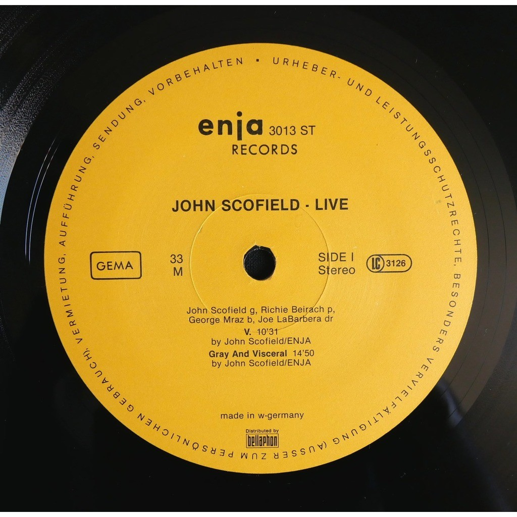 John Scofield Live
