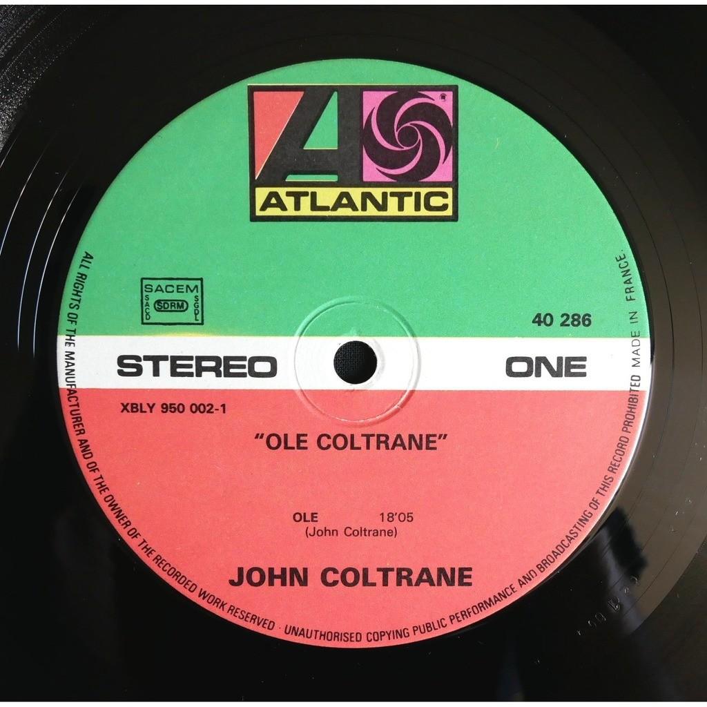 John Coltrane Olé