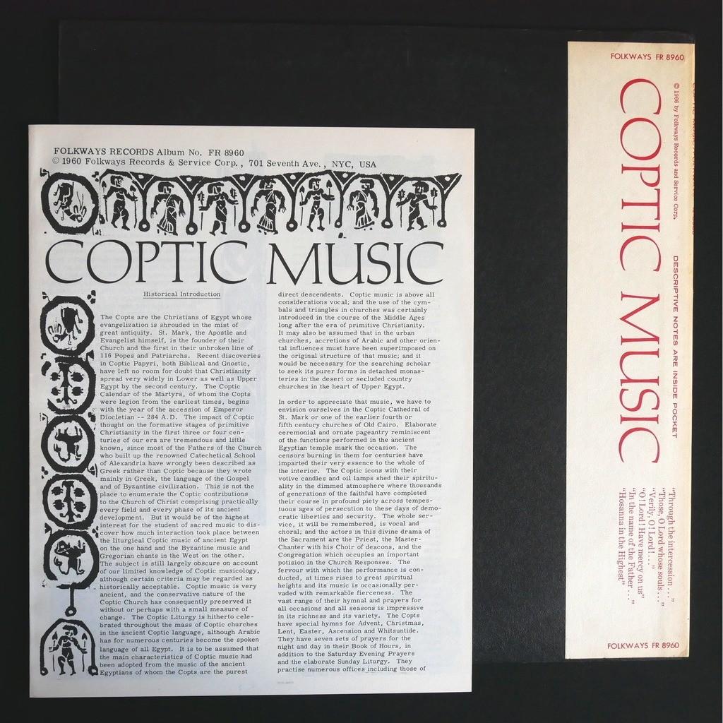 Various Coptic Music