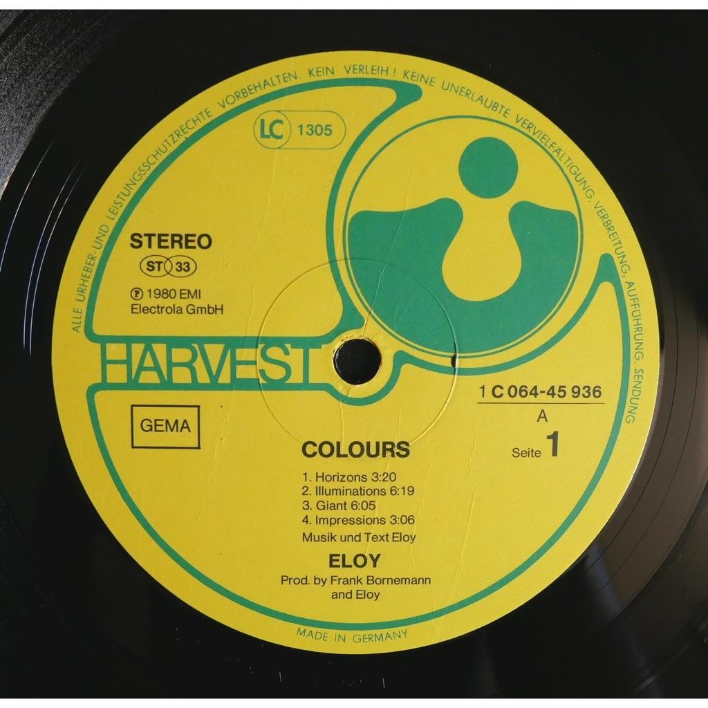 Eloy Colours