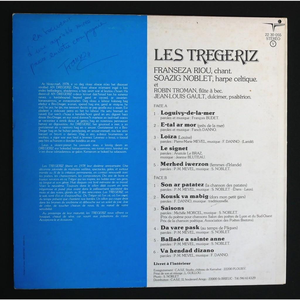 Les Tregeriz Loguivy-De-La-Mer - Son Ar Patatez