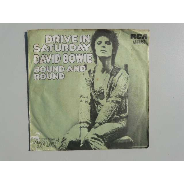 David Bowie drive in saturday, round and round