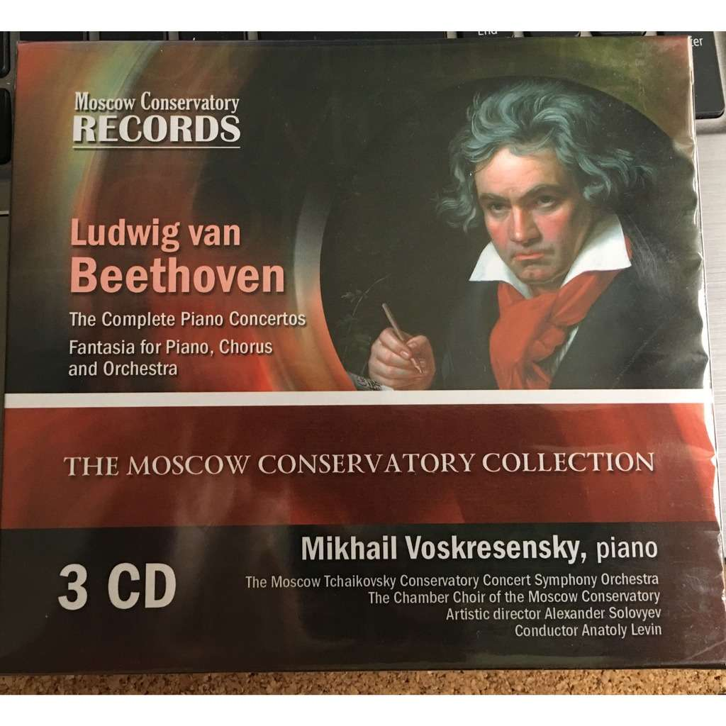 mikhail voskresensky, piano beethoven the complete piano concertos; fantasy