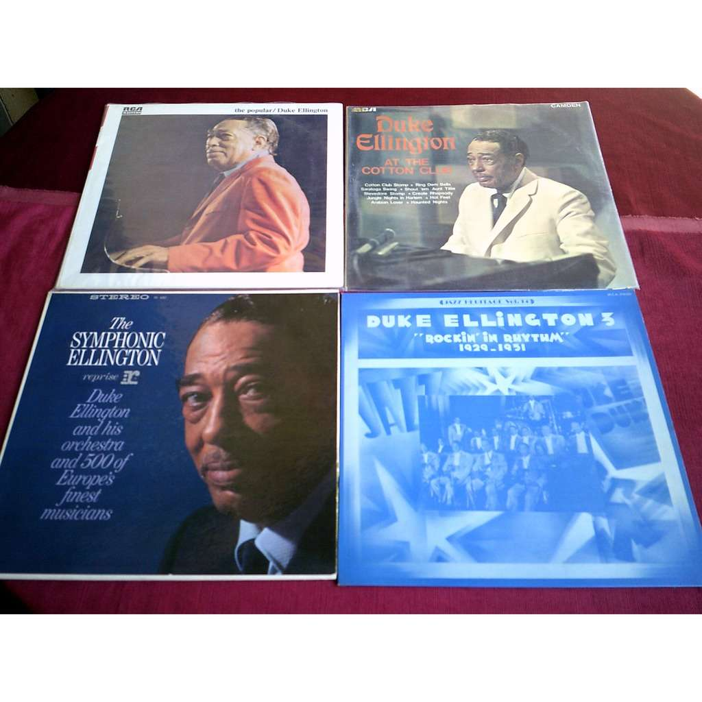 duke ellington COLLECTION DE 12 ALBUMS 33 TOURS