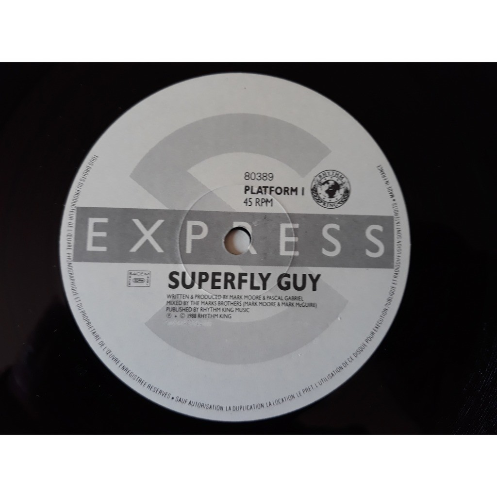 S'Express - Superfly Guy (12) S'Express - Superfly Guy (12)