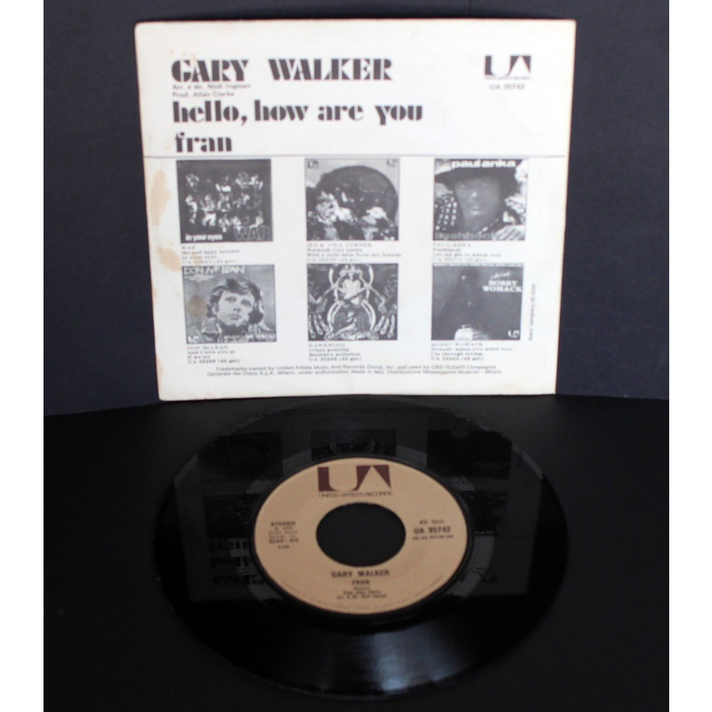 Gary Walker Hello, How Are You