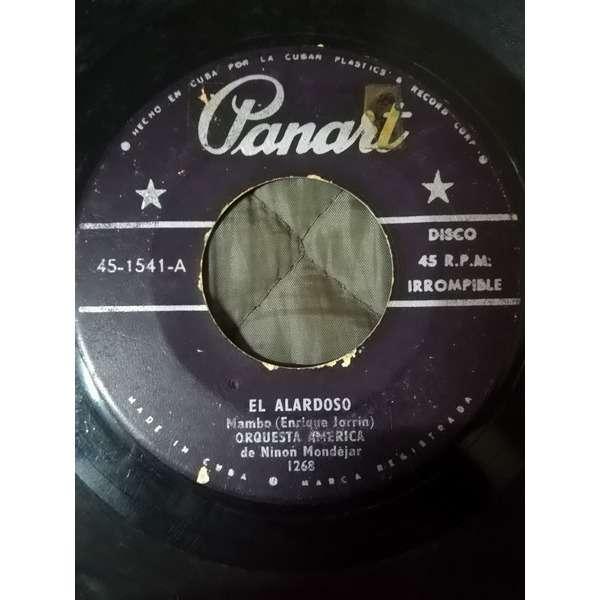 Orquesta America El alardoso(mambo)/Negro de sociedad(guaracha)