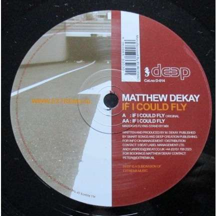 Matthew Dekay If I Could Fly
