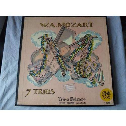 TRIO DI BOLZANO Mozart : 7 trios - ( ultra rare 3 lp set box )