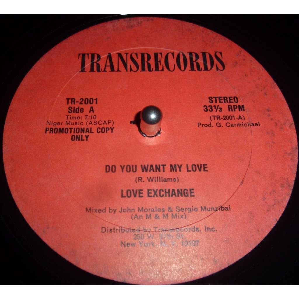 love exchange Do You Want My Love