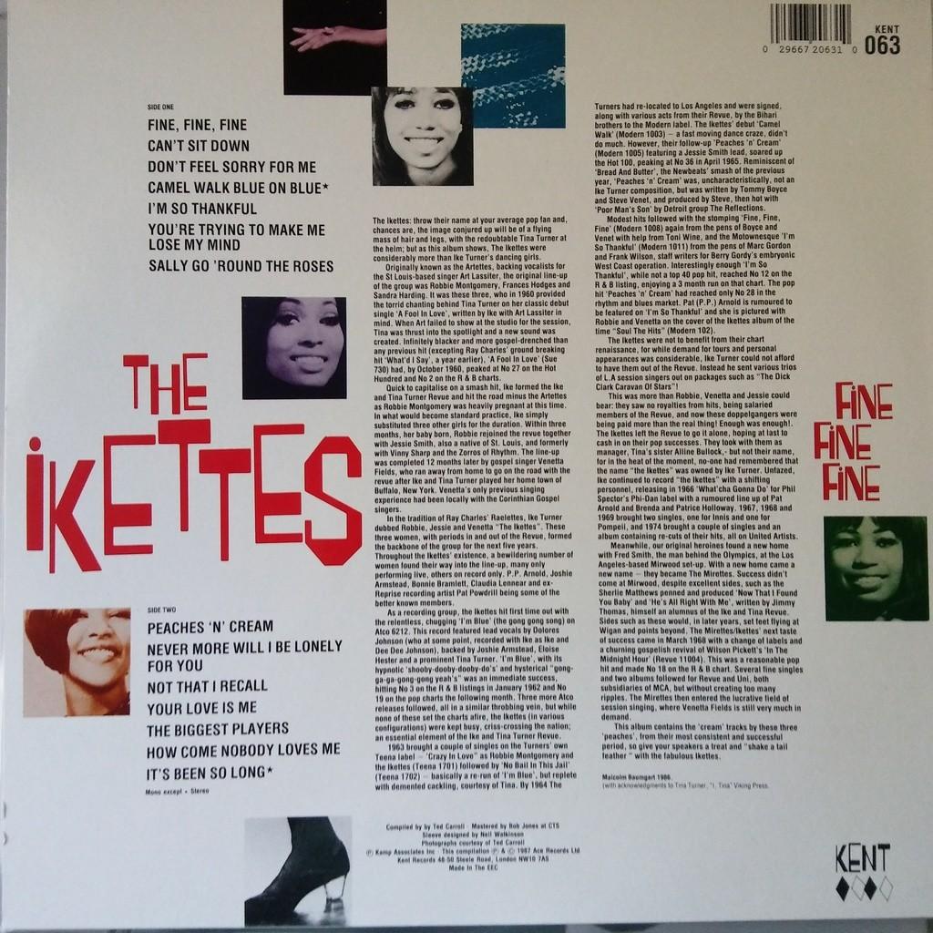 The Ikettes Fine Fine Fine