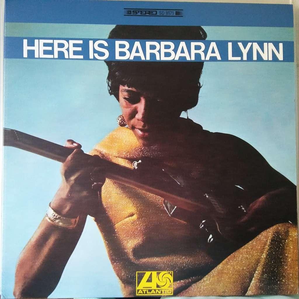 Barbara Lynn Here Is Barbara Lynn