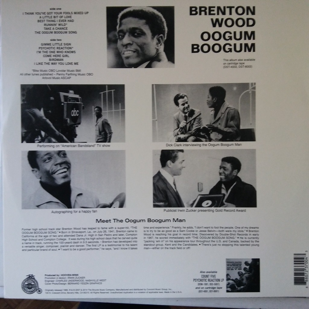 Brenton Wood Oogum Boogum