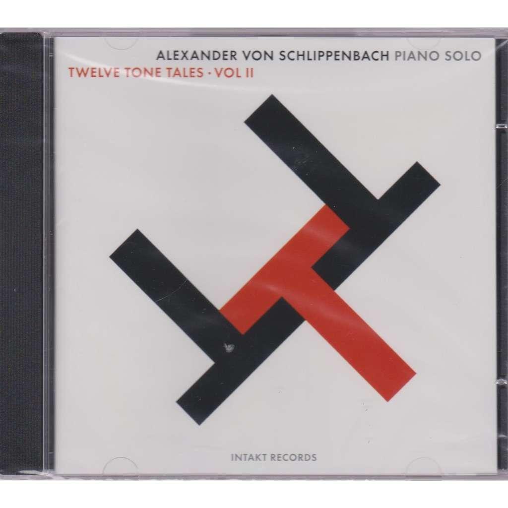 alexander von schlippenbach twelve tone tales vol.2