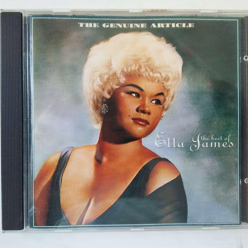 Etta James The Genuine Article - The Best Of Etta James