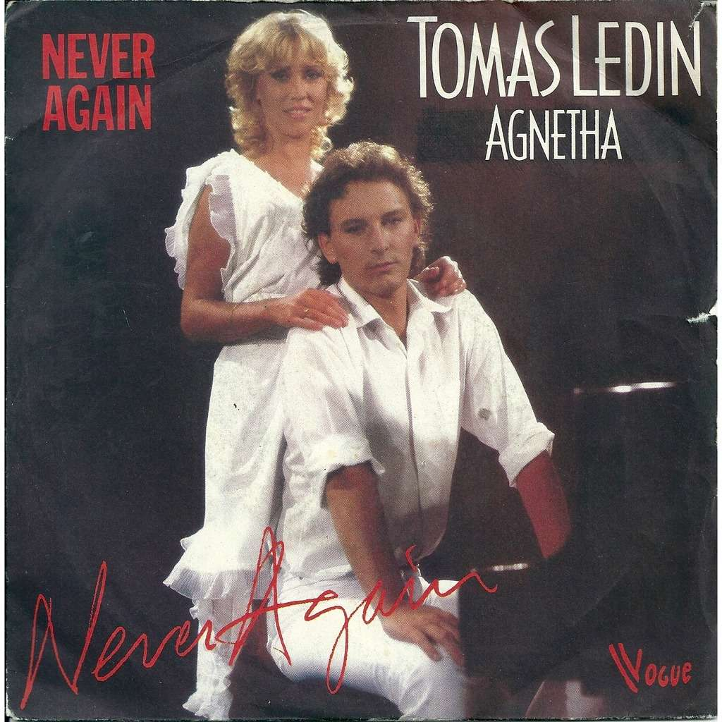 Tomas Ledin & Agnetha from Abba Never again