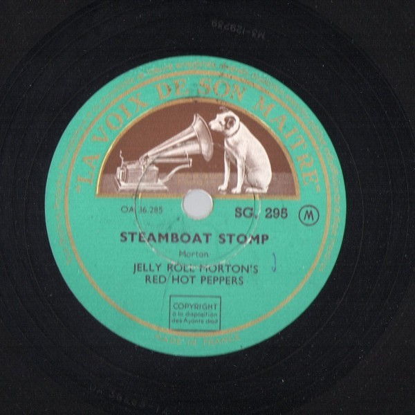 JELLY ROLL MORTON'S RED HOT PEPPERS CANNON BALL BLUES - STEAMBOAT STOMP