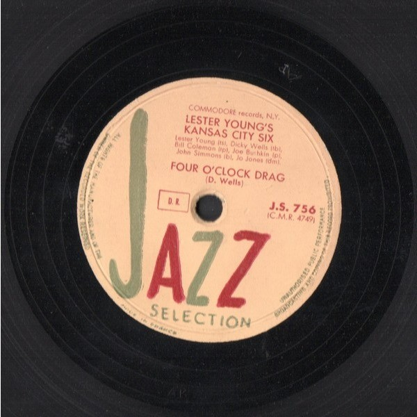 LESTER YOUNG'S KANSAS CITY SIX THREE LITTLE WORDS - FOUR O'CLOCK DRAG