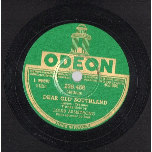 LOUIS ARMSTRONG WEATHER BIRD - DEAR OLD SOUTHLAND
