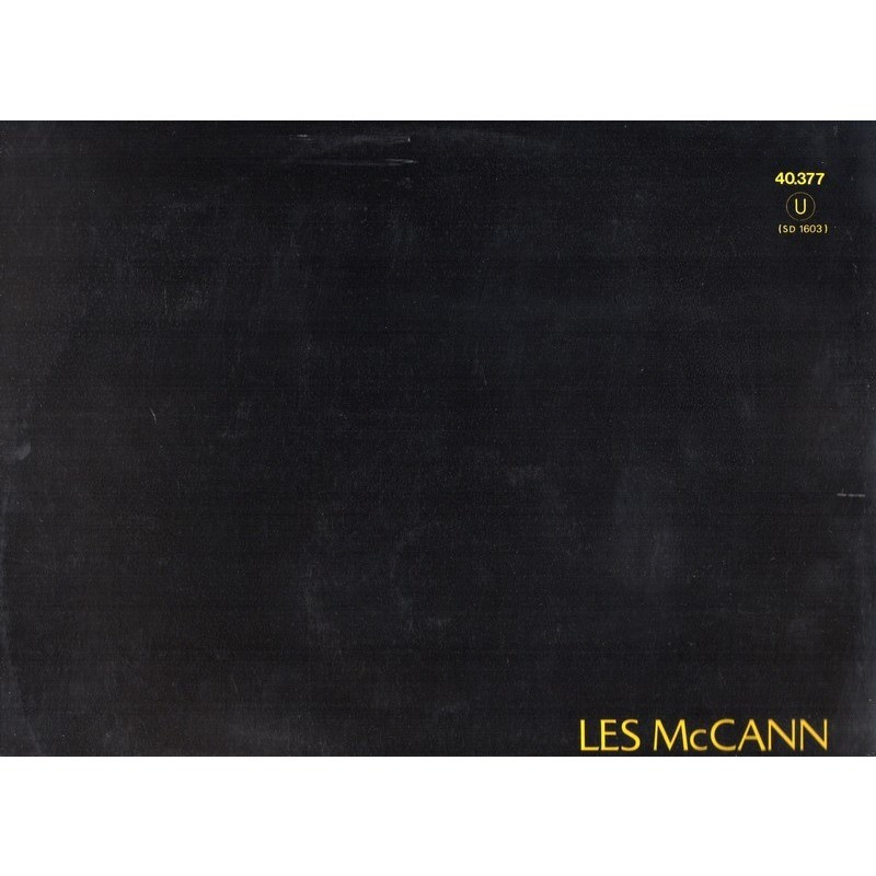 LES McCANN INVITATION TO OPENNESS