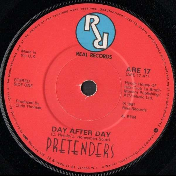PRETENDERS DAY AFTER DAY - IN THE STICKS