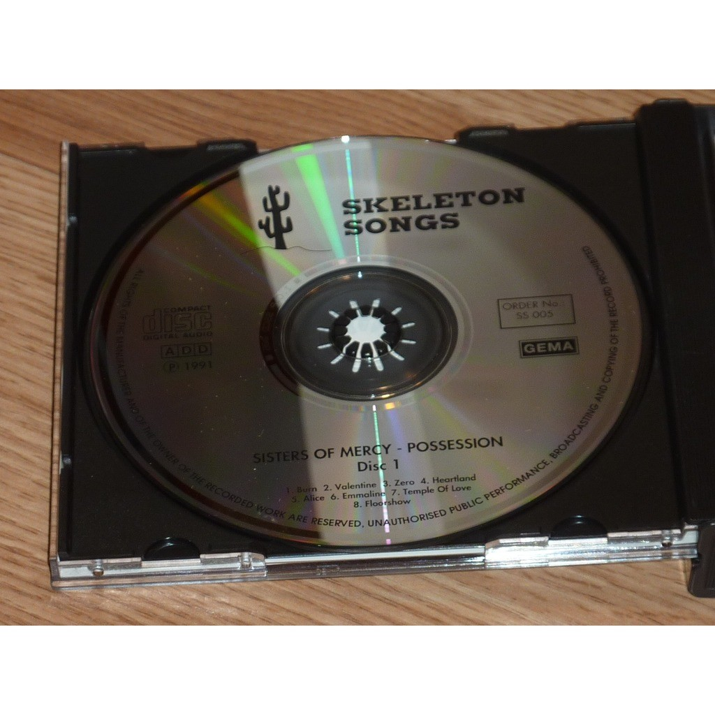 SISTERS OF MERCY POSSESSION 2CD