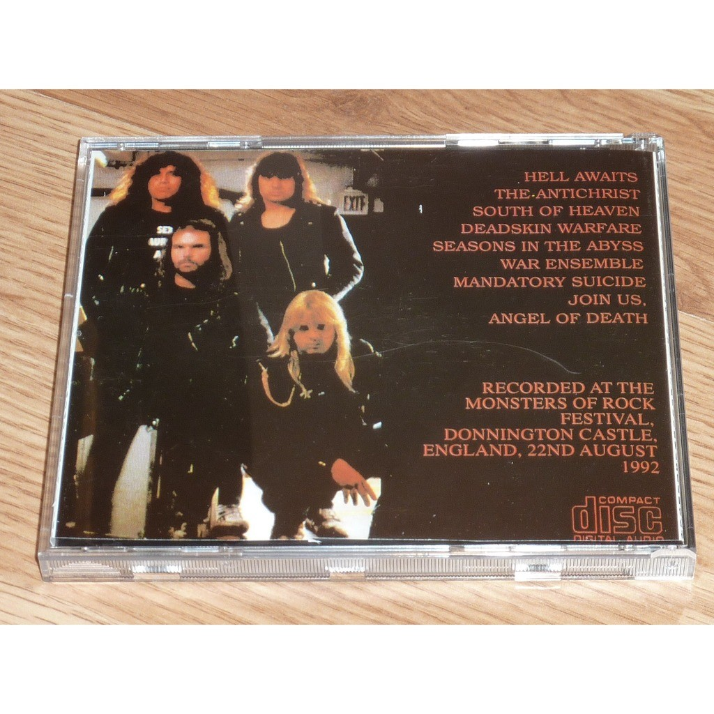 SLAYER AURAL ASSAULT CD
