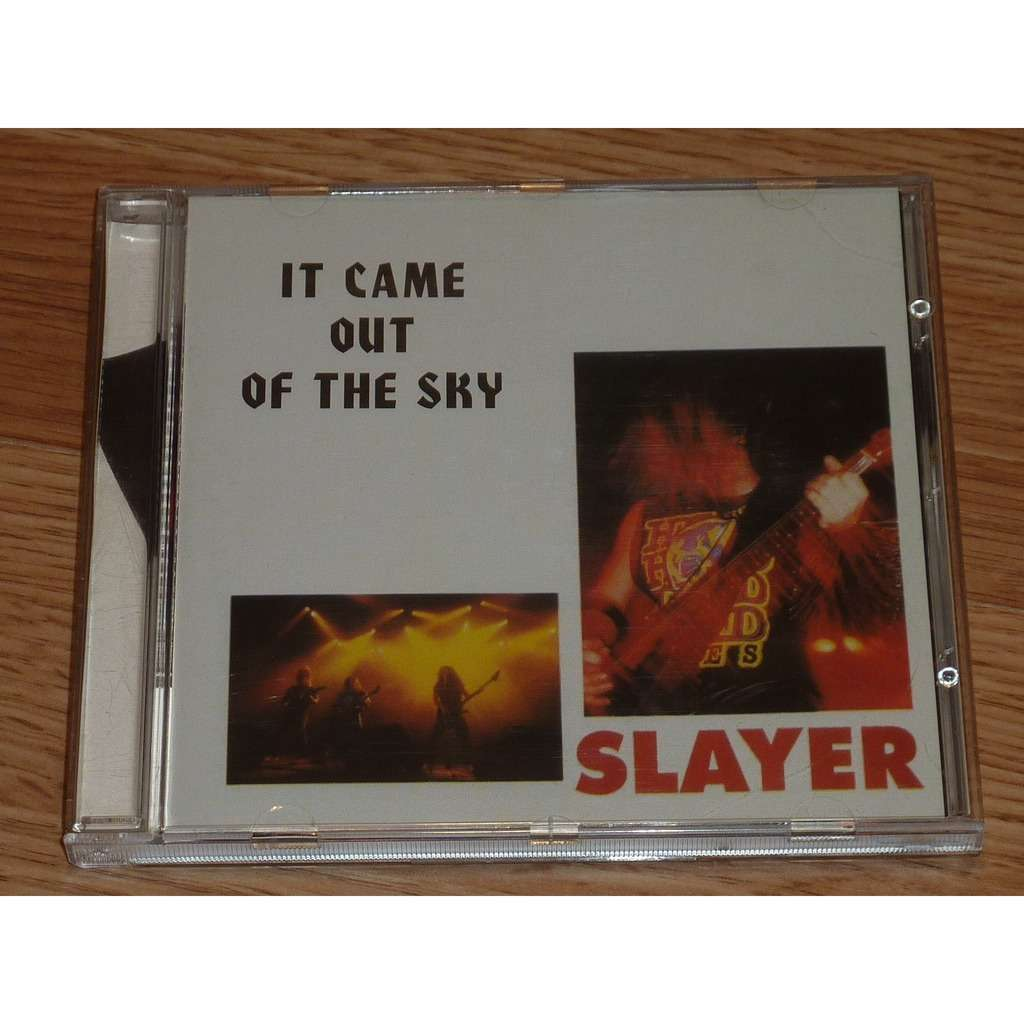 SLAYER IT CAME OUT OF THE SKY CD