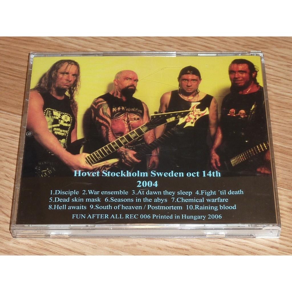 SLAYER SPITTING POISON CD