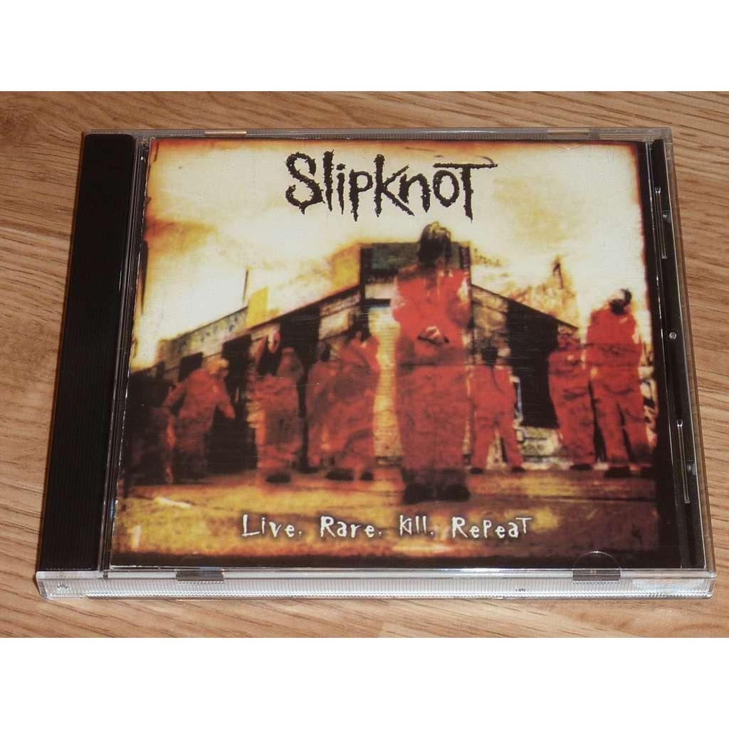 SLIPKNOT LIVE, RARE, KILL, REPEAT CD
