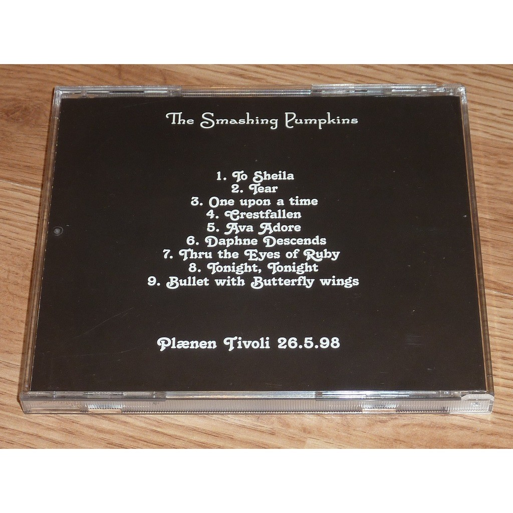 SMASHING PUMPKINS PLAENEN TIVOLI 26/05/98 CD