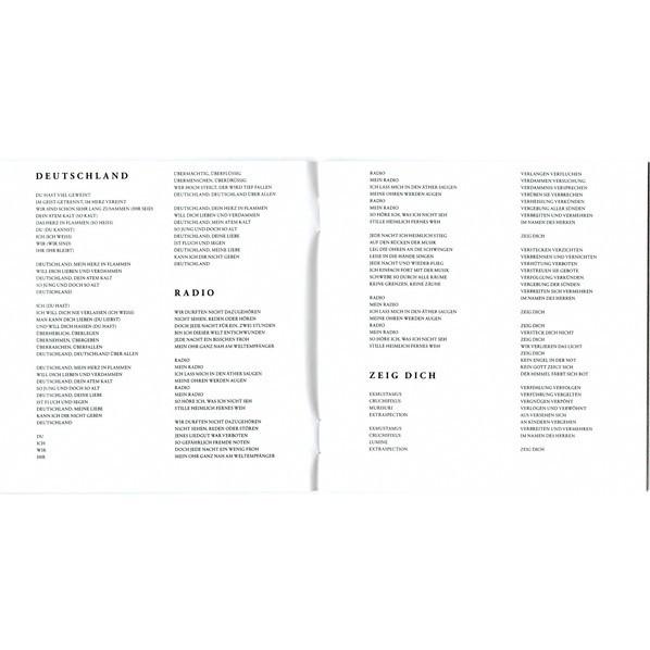 Rammstein Rammstein (2019 - 17 tracks DELUXE edition, jewel case, 6 bonus tracks)