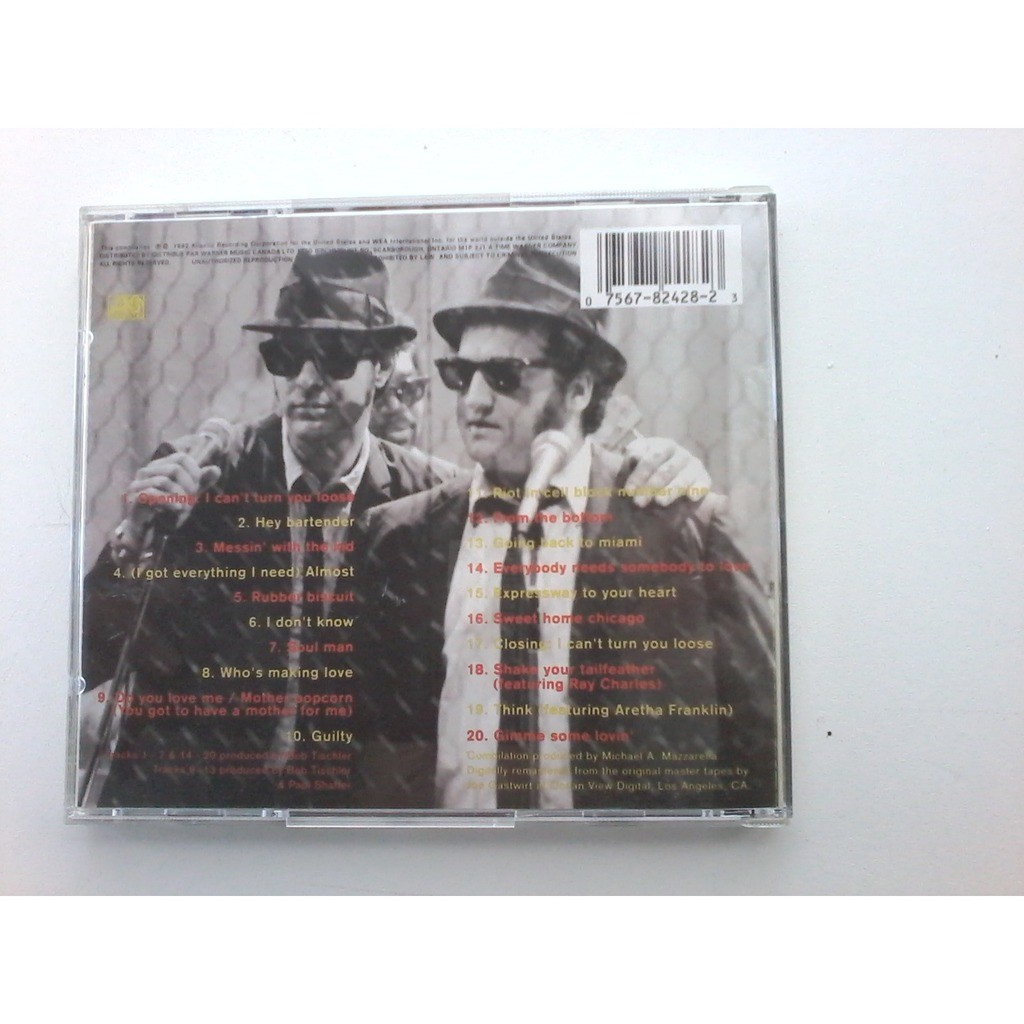 the blues brothers the definitive collection