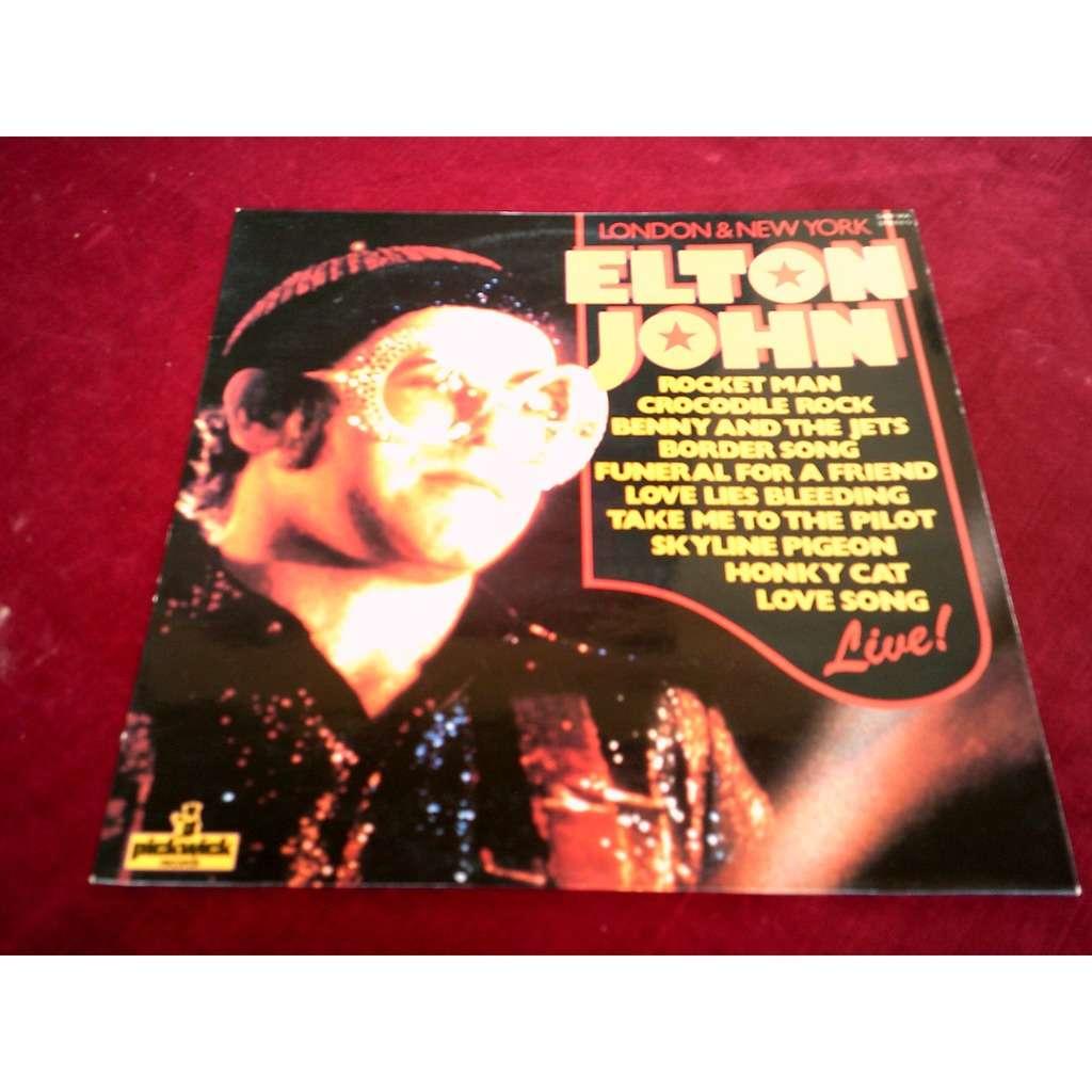 elton john LONDON & NEW YORK