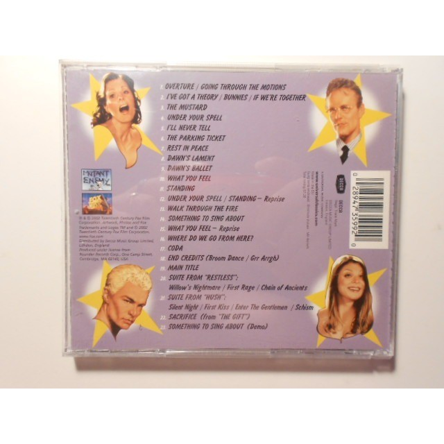 buffy the vampire slayer original cast album once more,with feeling
