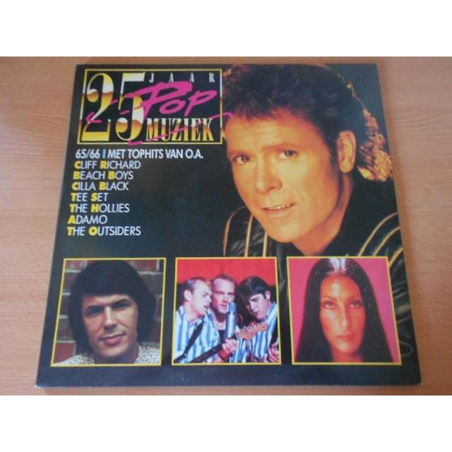 25 jaar pop muziek 65/66 met top hits van O.A