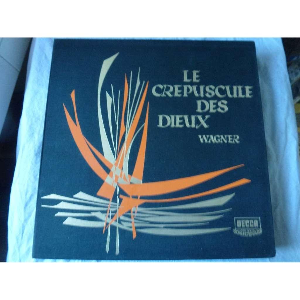nilsson, windgassen, neidlinger, frick, ludwig Wagner : le crépuscule des Dieux - philharmonique de vienne dir georg solti - ( 7lp set box )