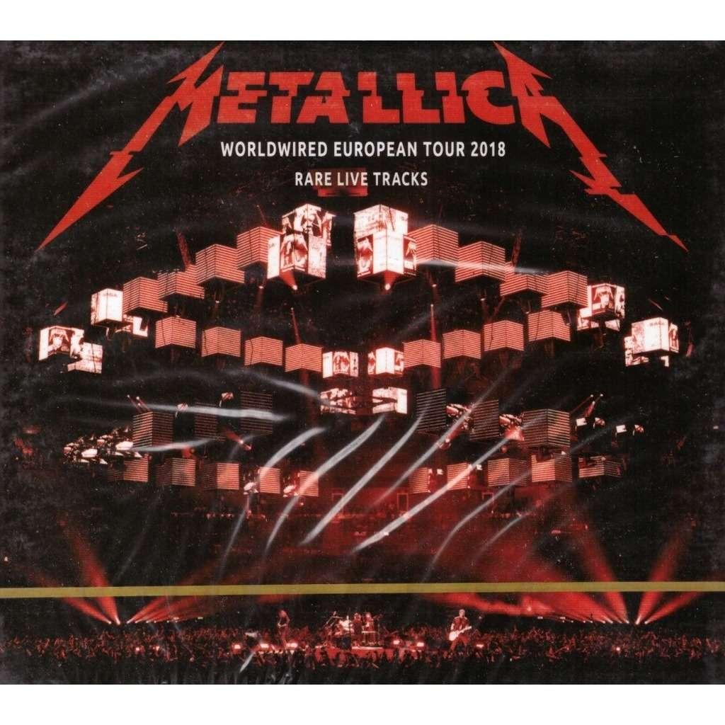 Metallica Worldwired European Tour 2018Rare Live Tracks 2CD New Sealed