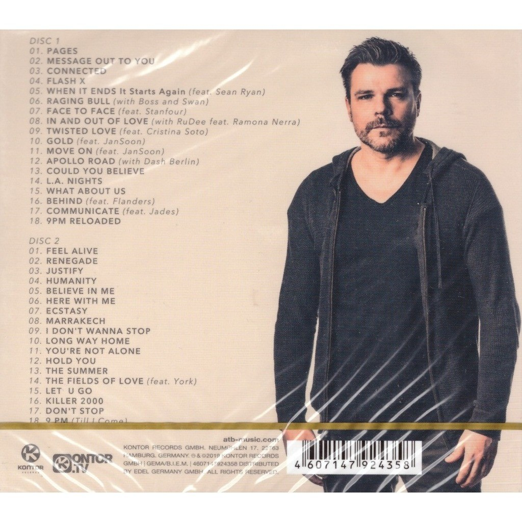 Atb Greatest Hits 2CD New Sealed