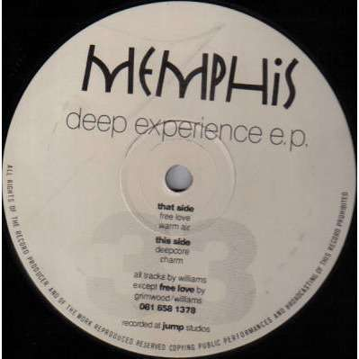 Memphis Deep Experience EP