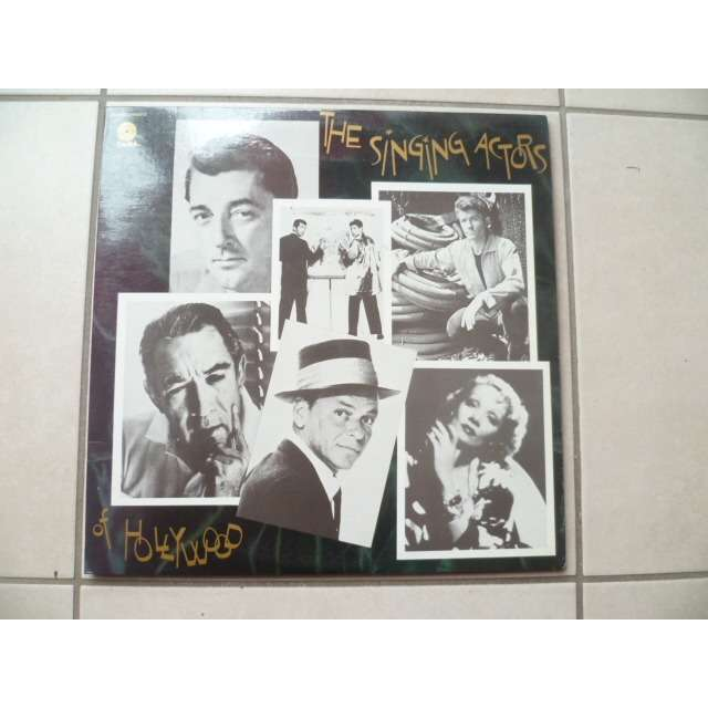 frank sinatra,etc... The Singing Actors Of Hollywood