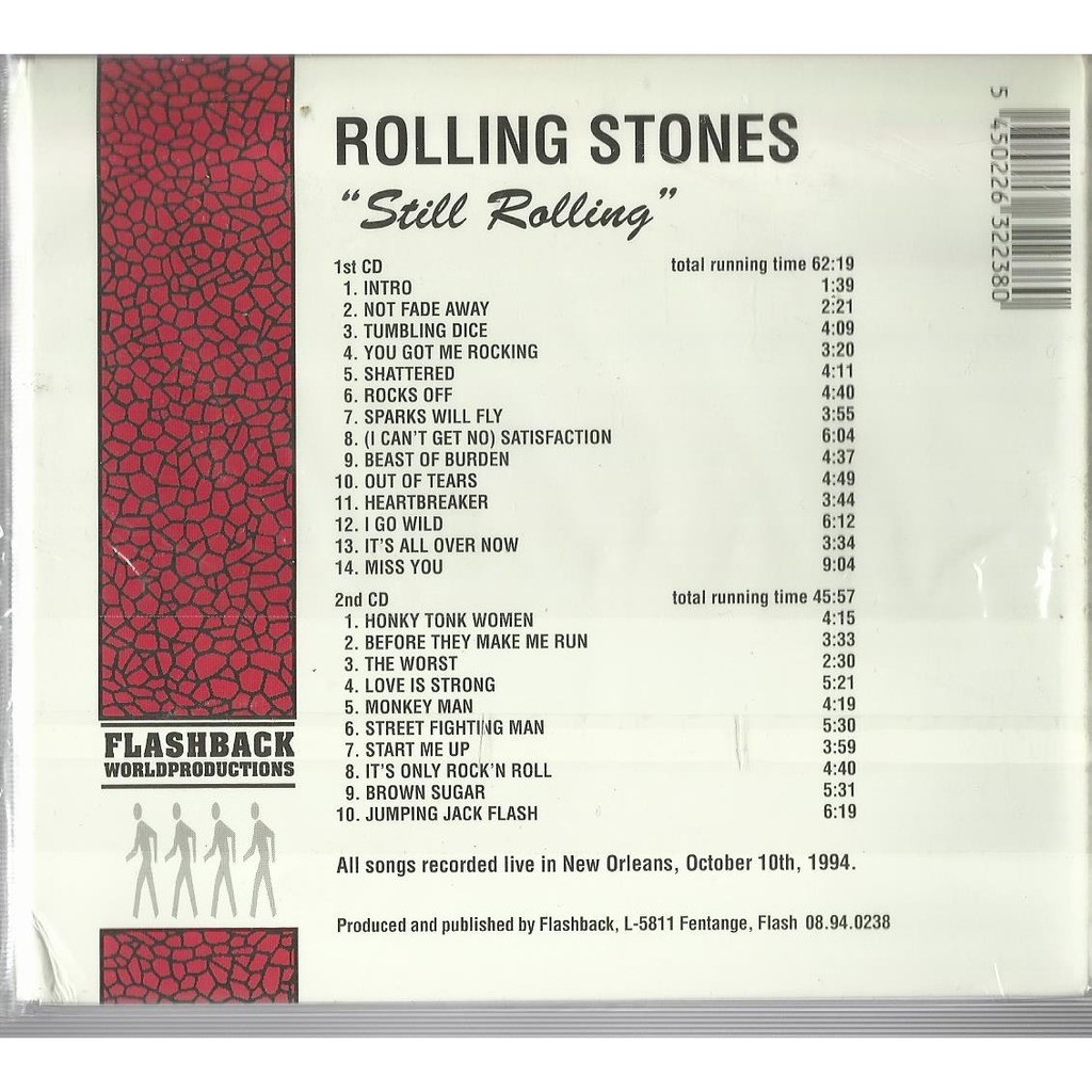 the rolling stones still rolling