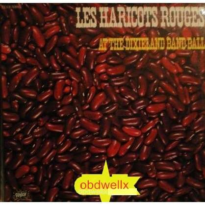 HARICOTS ROUGES Les At the Dixieland Band Ball_double album