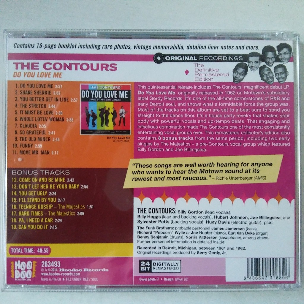 The Contours Do You Love Me (Now That I Can Dance)