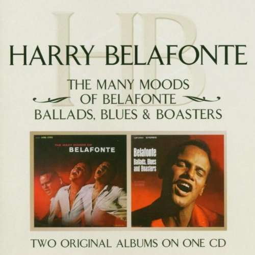 HARRY BELAFONTE MANY MOODS / BALLADS BLUES & BOASTERS