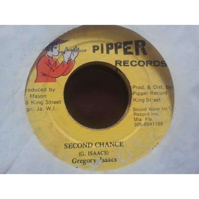 Gregory Isaacs Second Chance ORIG.