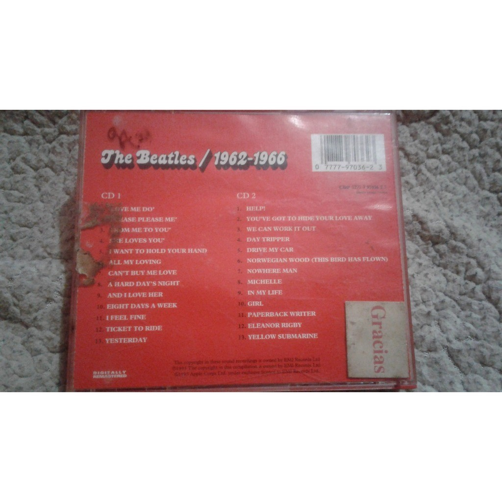The Beatles The Beatles / 1962-1966