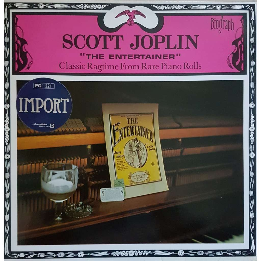 JOPLIN Scott The entertainer_Classic RAGTIME from piano rolls
